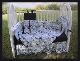 skull baby bedding crib sets