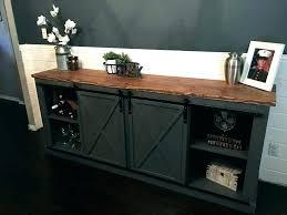 tv stand sliding doors oak