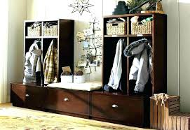 Hallway Coat Rack Bench Stunning Coat Hanger With Storage Bench Bench Coat Rack Talkwithsamco