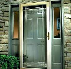 storm doors review series in x bronze right anderson andersen screen door reviews hardware