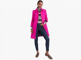 winter coat jcrew pink wool coat