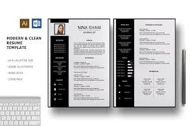 Pretty Resume Template 2 Impressive Draco 28 Pages Resume Template Resume Templates Creative Market