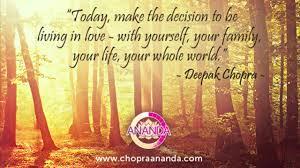 Love In All Things The Meditator Deepak Chopra