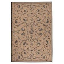 tendril cocoa 8 ft x 11 ft area rug