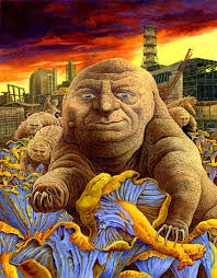 Artist is Philip Hood. Subject is... evolved tardigrades? : wtfart