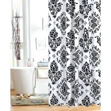 black and white shower curtain medium size of black and white shower curtain black bridal black