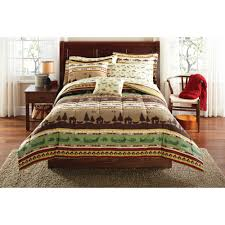 mainstays gone fishing bed in a bag coordinating bedding set com