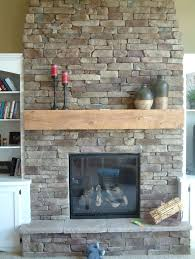 stone fireplace with beautiful mantel decorating ideas small stone fireplace design with wooden mantel and