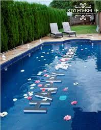Image Birthday Outdoor Pool Decor Pinterest Outdoor Pool Decor Birthday Themes Pool Party Decorations Party