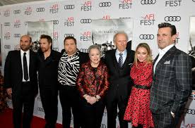 Clint Eastwood, Kathy Bates, Sam Rockwell, Jon Hamm, Ian Gomez, Blair Rich,  Paul Walter Hauser - Clint Eastwood and Blair Rich Photos - AFI FEST 2019  Presented By Audi – 'Richard Jewell'