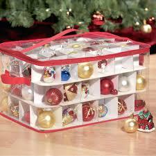 Storage Bins:Tree Bag Storage Christmas Box With Wheels Iris Walmart Dainty  Transparent Plastic Ornament