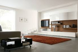Living Room , Attractive Wall Mount TV Ideas For Living Room With Striking  Design : Simply