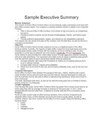 executive summery executive summary examples delli beriberi co