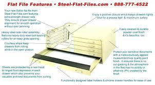 Safco Flat Files X Fiberboard File Portfolio Set Of