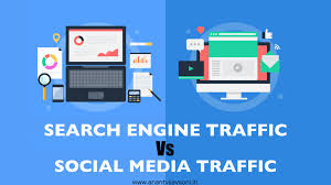Search Engine Traffic Vs. Social Media Traffic - Which Is Best Traffic  Source?