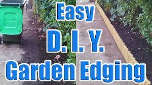 how to do garden edging with leftover house tiles creative garden edging with dazndi you