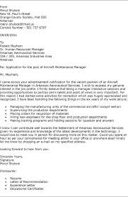 Maintenance Cover Letter Your Own Use This Cover Letter To The