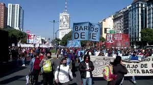 Arjantin'de bağımsızlık gününde hükümet karşıtı protestolar düzenlendi