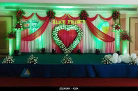 Wedding Reception Decoration done at Mass hotel, Pondicherry