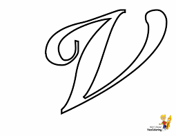 Each letter and number corresponding to accompany the picture. Classic Coloring Pages Alphabet Cursive Letters Free Numbers