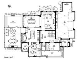 Modern 5 Bedroom House Plans House Plans With Pool Eplans New American House Plan Two Story