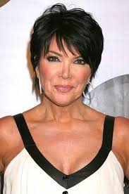 short hair styles for women over 50 of kris jenner haircut chic short black