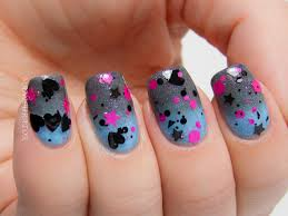 Black Heart Nail Designs images