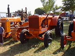 antique allis chalmers tractor ac wf tractorshed com ac wf tractor