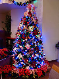 Terrific Colored Lights On Christmas Tree Decorating Ideas 81 On Simple  Design Decor with Colored Lights On Christmas Tree Decorating Ideas