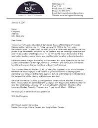 Solicitation Latter Silent Auction Solicitation Letter 2017 Page 001 Fort