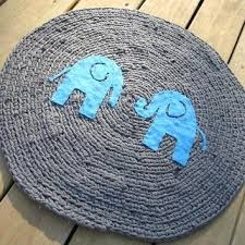 ideas elephant nursery rug or crochet round t shirt rug elephant rug nursery rug made to 23 elephant nursery rug uk