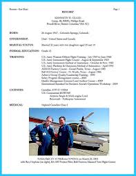 Pilot Resume Template Cool Successful Low Time Airline Pilot Resumenefciorg 44
