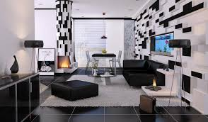 White Living Room Set The Elegant And Minimalist Ideas Of Black And White Living Room
