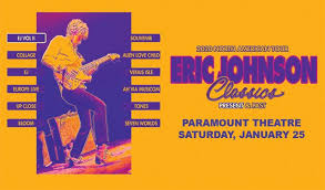 Paramount Denver Seating Chart Eric Johnson Classics Present And Past Tickets In Denver At