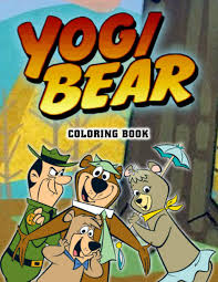 Printable bears coloring page to print and color. Yogi Bear Coloring Book 50 Coloring Pages Impressive Coloring Books For Kids Boys Girls Relaxing Joaquin Medhurst 9798691854811 Amazon Com Books