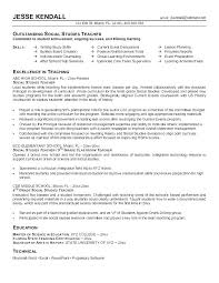 Teaching Objective Resume Special Education Resumes Objectives