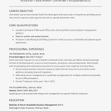 resume for front desk hotel front desk resume examples