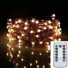Outdoor Led String Lights With Remote Control Us 9 96 18 Off 6m 120led 8modes Copper Wire 6aa Battery Operated Chrismas String Lights Outdoor Led Fairy Lights Decoration Wedding Garland In Led