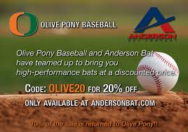Pony Baseball League Age Chart Olive Pony Baseball
