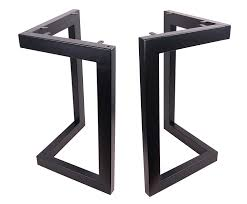 Eclv 28 Dining Table Legs L Shaped Steel Table Legs Country Style