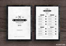 Restaurant Menus Layout Distressed Restaurant Menu Layout Buy This Stock Template