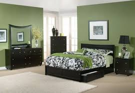 wall colors for black furniture.  Colors Modern Green Bedroom With Black Furniture Picture To Wall Colors For I