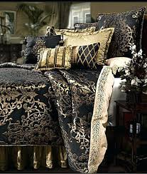 black king size bedding and silver super gold