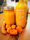 carrot habanero hot sauce
