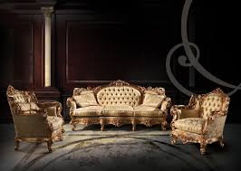Luxury Couch Furniture Sofas Classic Style Idfdesign