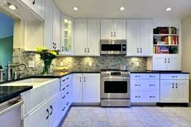 white kitchen cabinets for sale. White Kitchen Cabinets With Under Cabinet Lighting And Mosaic Tile For Modern Cool Sale Craigslist Design B