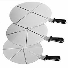 <b>Поднос</b> для нарезки пиццы на 4 куска <b>d</b>=<b>50 см</b> Zio Pepe <b>RV50</b>/4 ...