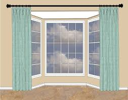 when there s wall space on either side of the bay window hang your rod high