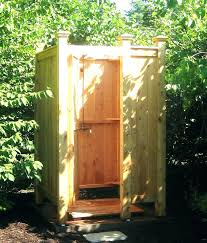 outdoor shower showers enclosures pipe enclosure pvc stall