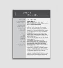 The Ultimate Revelation Of Simple Modern Resume Information